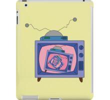 crazy tv simpsons iPad Case/Skin