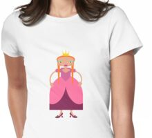 Beautiful Fairy Tale Princess Womens Fitted T-Shirt