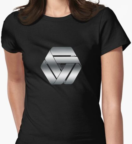 Ascension: Technocratic Union Womens Fitted T-Shirt