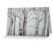 screaming tree  Greeting Card