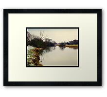 First Frosting ..  Framed Print