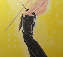 Freddie Mercury Rock Star by Michael McEvoy