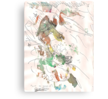 GOT TO MAKE IT(C2012)(ORIGINAL SKETCH SCAN) Canvas Print