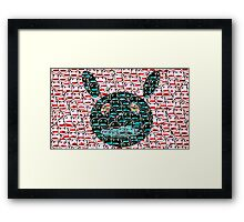 Anime Bunny Framed Print