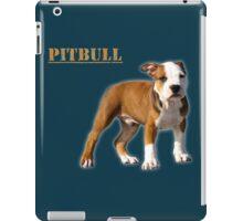 pitbull terrier iPad Case/Skin