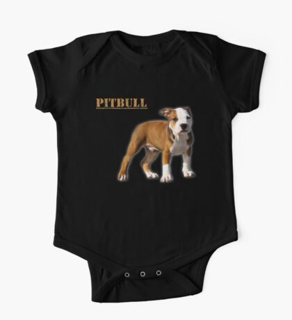 pitbull terrier One Piece - Short Sleeve