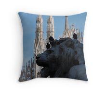 Duomo di Milano Throw Pillow