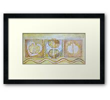 Collective Unconscious, 3=1=Enlightenment Framed Print