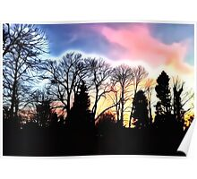 Dazzling Sunset Poster