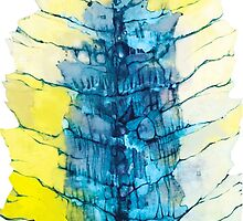 Watercolor Blue by JovanaM