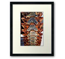 Chain Belt Framed Print