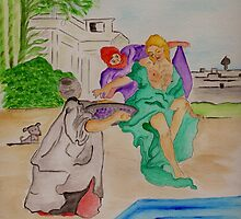David & Bathsheba by Anne Gitto
