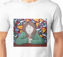 House sparrow,girl & sparrow Unisex T-Shirt