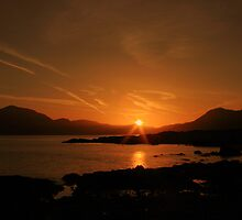 Connemara sunrise by John Quinn