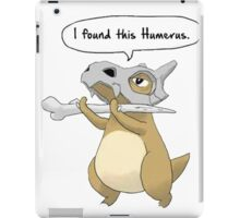 pokemon, humerus iPad Case/Skin