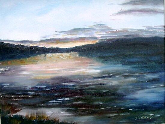 Donegal Sunset by Joe Sweeney
