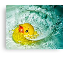 Splishy Splashy Canvas Print