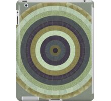 Illustrated Stylized Radial Pattern iPad Case/Skin