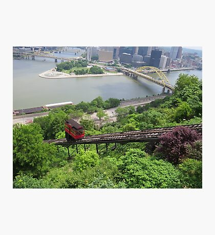 Duquesne Incline Pittsburgh, PA Photographic Print