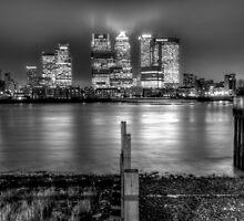 London at night by Tom Shearsmith