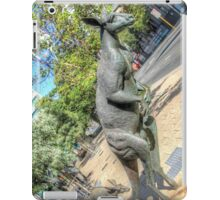 Kangaroos In The City 3 - Perth WA - HDR iPad Case/Skin