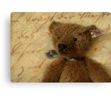 Vintage Ted Canvas Print