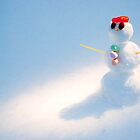 The World's Smallest Snowman by Kris10Tee