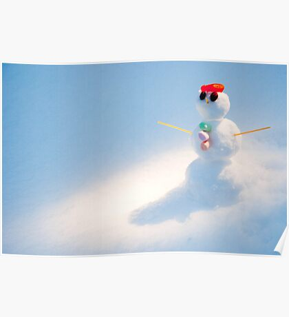 The World's Smallest Snowman Poster