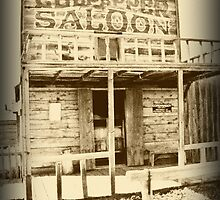~ High Noon at Culpepper's Saloon ~ by Tim Denny