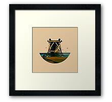 Skyless Composition | Three Framed Print