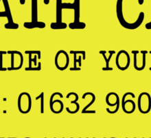 The Mighty Boosh – Death Cabs Sticker