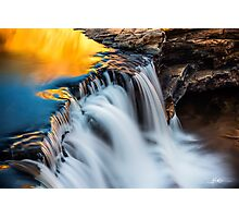 Molten Gold (Bell Gorge) Photographic Print