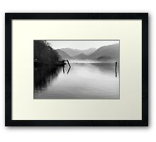 The Jaws of Borrowdale from Derwentwater Framed Print