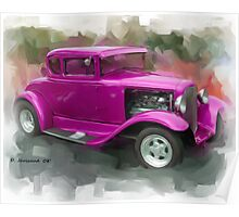 30' Ford Coupe Poster