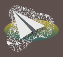 Paper Airplane 109 Baby Tee