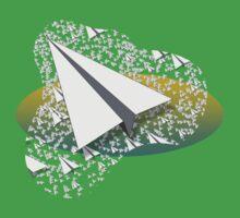 Paper Airplane 109 Kids Tee