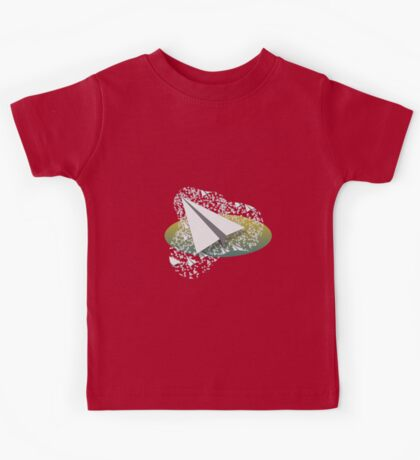 Paper Airplane 109 Kids Tee