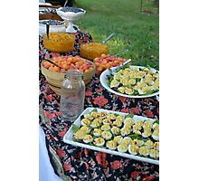 Farm to Table Breakfast Photographic Print