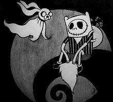 The Nightmare Before Adventure Time by annray