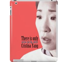 There is only one Cristina Yang. iPad Case/Skin