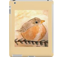Cozy Robin iPad Case/Skin