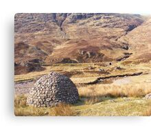 Scottish Igloo? Canvas Print