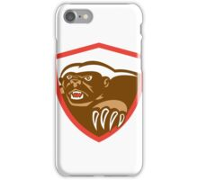 Honey Badger Claws Side Shield Retro iPhone Case/Skin