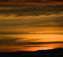 Andean Sunset by Stephen Beattie