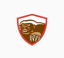 Honey Badger Claws Side Shield Retro Unisex T-Shirt
