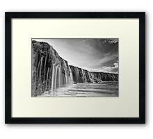 Waterfall Reef Framed Print