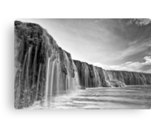 Waterfall Reef Metal Print