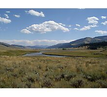 Yellowstone River Photographic Print