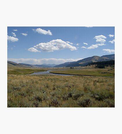 Yellowstone River Photographic Print