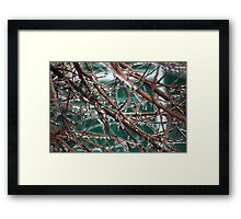 Manageable  Difference Framed Print
